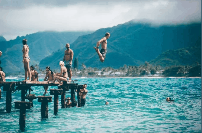 waterJumping